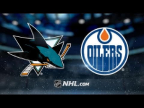 San Jose Sharks vs Edmonton Oilers NHL Game Recap