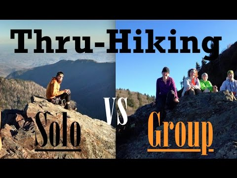 Thru-Hiking Solo vs with a Group