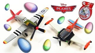 Disney Planes Judge Davis Supercharged Dusty Easter Eggs 2014 Holiday Edition Ripslinger Arturo