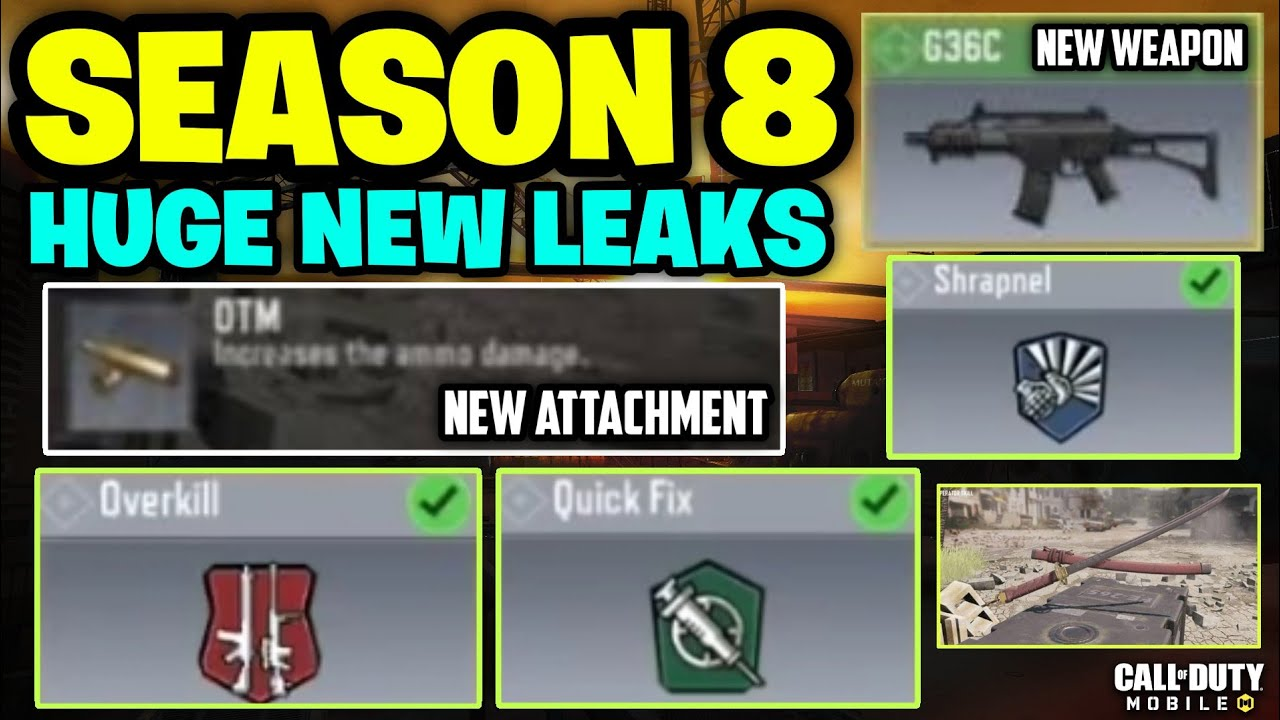 Season 8 Cod Mobile Call Of Duty Mobile Season 8 Leaks Updates