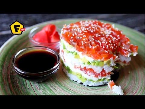 HOE MAAK je een LUIE SUSHI ✶ Recept sushi salade