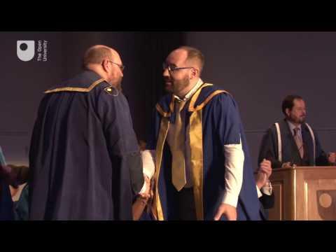 Dublin degree ceremony, Friday 13 May 2016