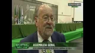 Declarações de Jaime Marta Soares após Assembleia Geral - Sporting TV (28/6/2015)