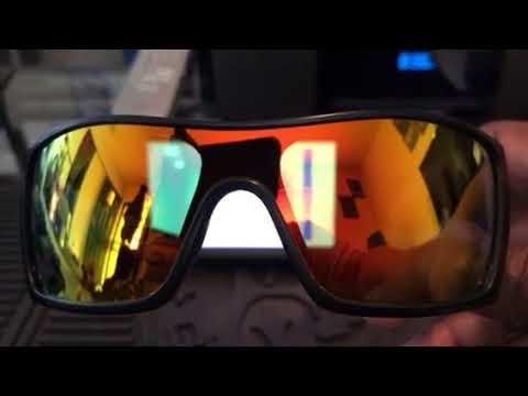 771ec8a64e My new Oakley BATWOLF 🦇 Polarized 🔥 iridium lenses 😎👌🏾✌🏾👍🏾💙❤️