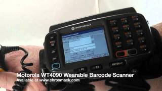 Motorola WT4090 Wearable Barcode Scanner - Scanning #2