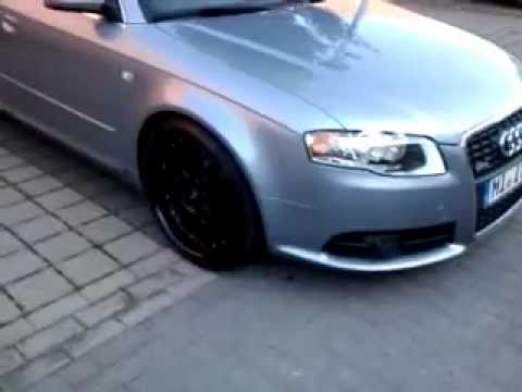 Audi A4 B7 Tuning 19 Wheels S Line Youtube