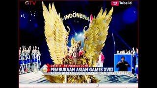 MEMUKAU!! Ini 4 Hal Spektakuler Saat Opening Ceremony Asian Games 2018 - BIS 19/08