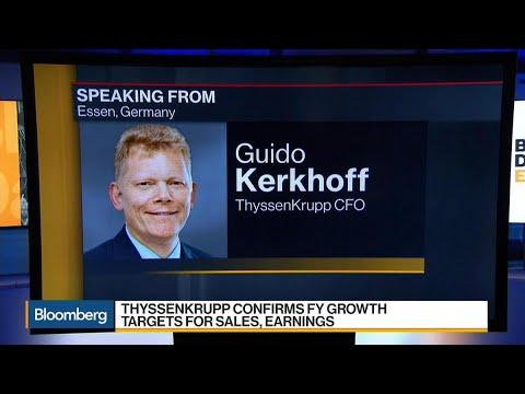 ThyssenKrupp CFO Sees Significant Reduction in Debt in 4Q