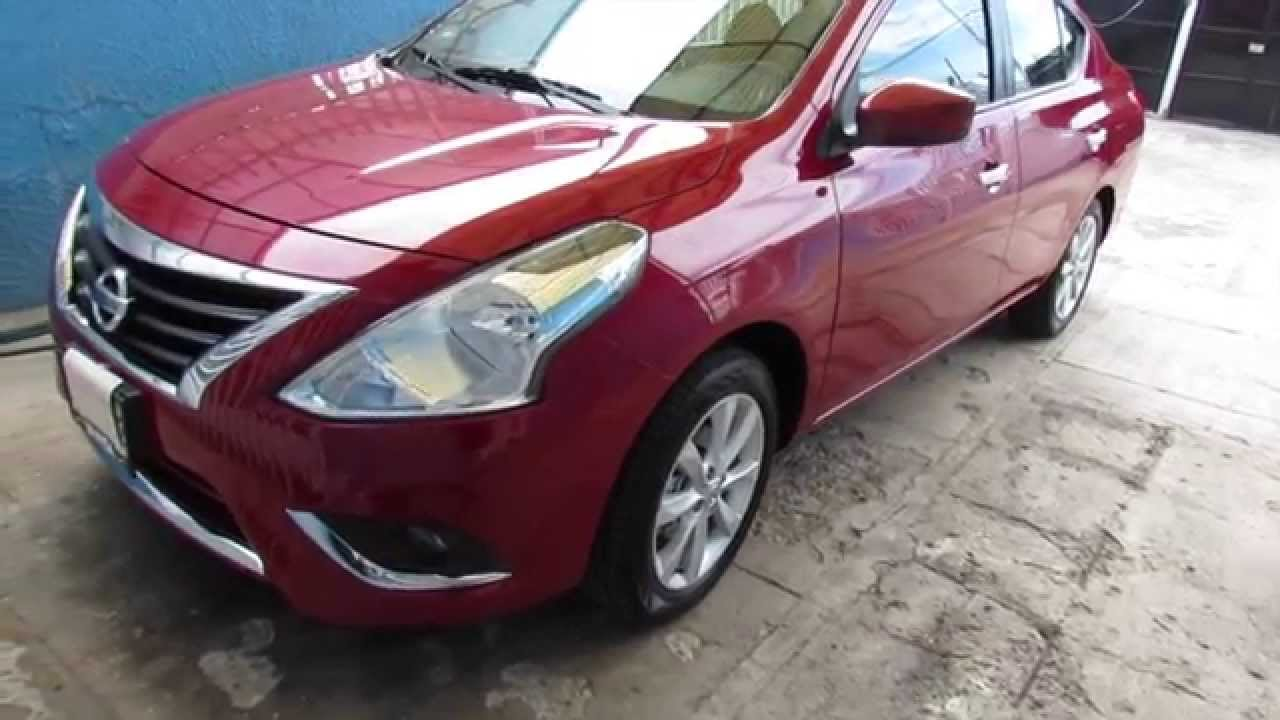 Revisado Nissan Versa Advance 2015 Espa 241 Ol Youtube