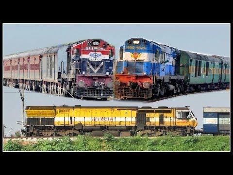 [25 IN 1] DIESEL POWERED INDIAN TRAINS : INDIAN RAILWAYS