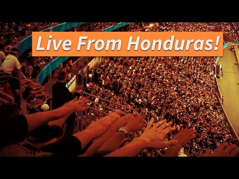 LIVE from the Olympic Stadium in San Pedro Sula Honduras!! Part 2