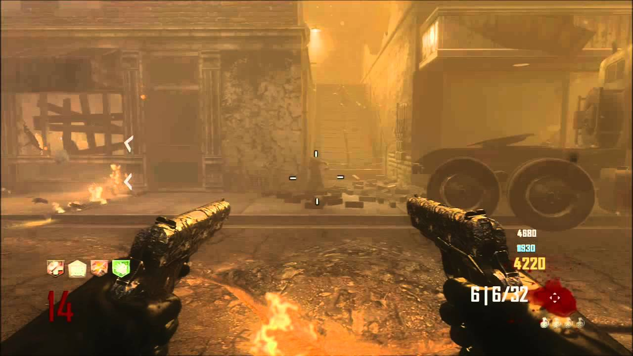 Wii U Black Ops 2 Zombies : My highest round ever on cod black ops zombies survival