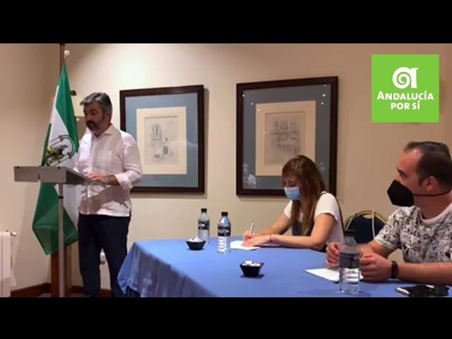 Modesto presentación manifiesto Compromiso con Andalucía
