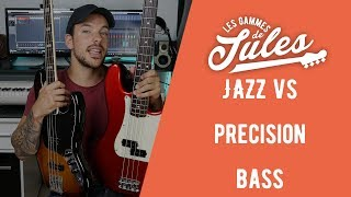 JAZZ BASS ( Mex) VS PRECISION BASS (US) Brosset