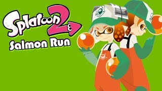 PULL YOUR OWN WEIGHT, GG!!! (Splatoon 2 Salmon Run Funny Moments)
