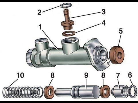 Ремонт главного цилиндра сцепления ,замена манжетов не снимая цилиндра  с автомобиля