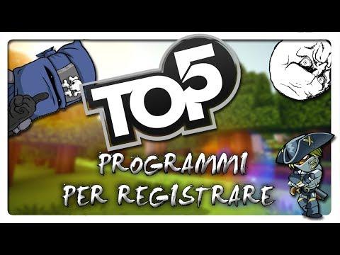 TOP 5 Programmi Per Registrare Nel Proprio Pc