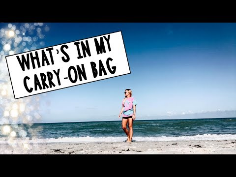 Teacher Vlog: Summer Vacation- My Carry-on Bag