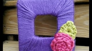Episode 85: How To Make And Crochet A Blooming Photo Frame