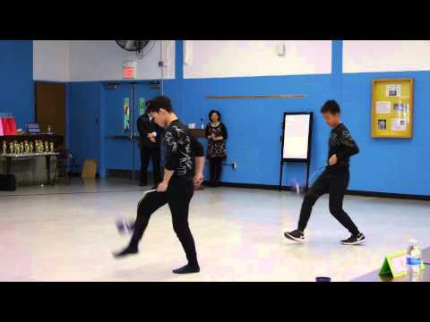 Steven Chien and Andrew Tse ANJCS Chinese Yoyo Doubles First Place 2016