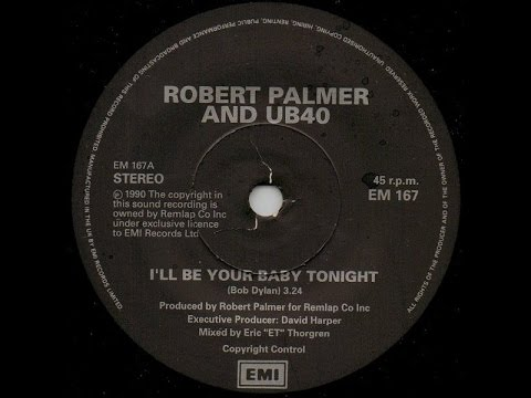 Robert Palmer and UB40 - I'll Be Your Baby Tonight