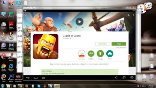 How to Dowload & Install Clash of Clans in PC 2015 FREE (Windows7/8)