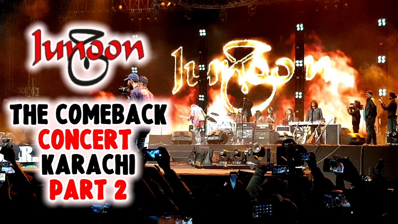 Junoon Live in Concert Karachi - Part 2 | The Comeback Concert | Junoon  Reunion 25 Dec 2018