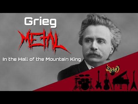 Edvard Grieg  In the Hall of the Mountain King 【Intense Symphonic Metal 】