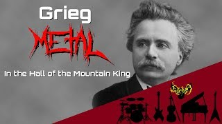 Edvard Grieg - In the Hall of the Mountain King 【Intense Symphonic Metal Cover】 - Stafaband