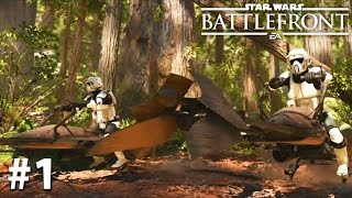 Star Wars Battlefront (2015) - Gameplay Xbox One PS4 60fps EA Access PART 1
