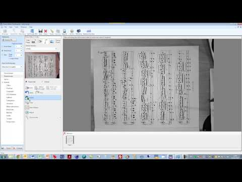 Scanning in sheet music to Power Music