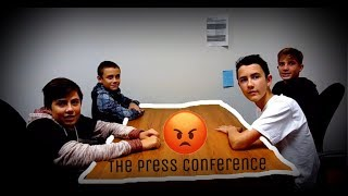 """DO EPIC THINGS"" BOXING MATCH (OFFICIAL PRESS CONFERENCE)"