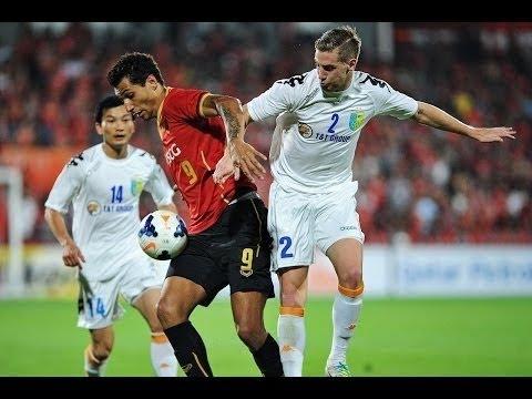 Muangthong UTD vs Hanoi T&T FC 08/02/2014 ACL Qualifier Full Match