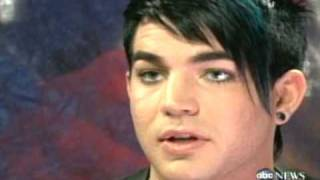 "Adam Lambert Comes Out--""Im Gay"" on 20/20"