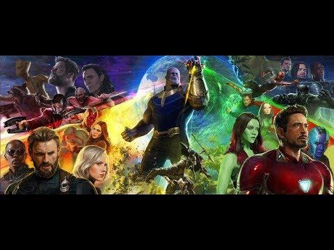 Avengers Infinity War Tribute: Legends Never Die