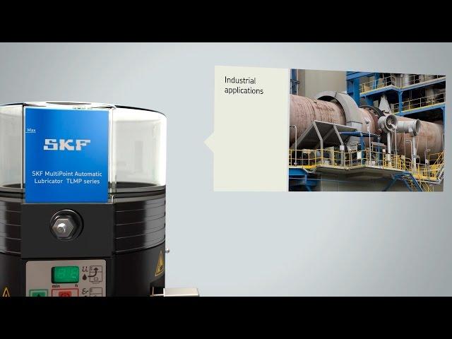 SKF MultiPoint lubricator TLMP series