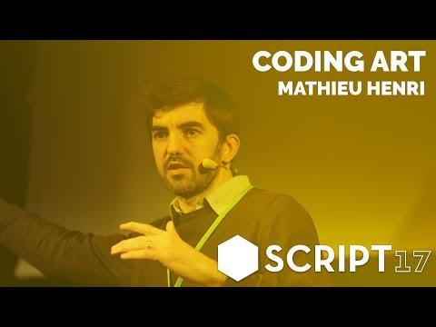 Mathieu Henri - Coding ⬢ Art / Script17