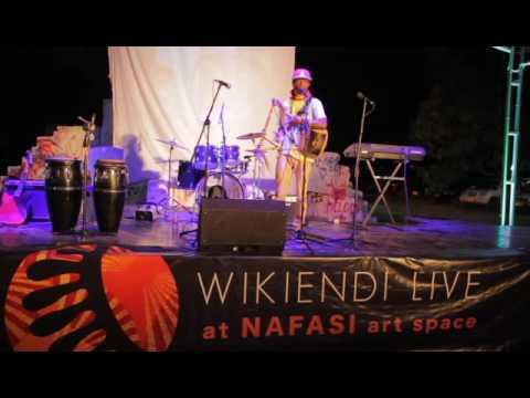 RapPoet at Wikiend Live at Nafasi  Art Space Dar es Salaam, Tanzania