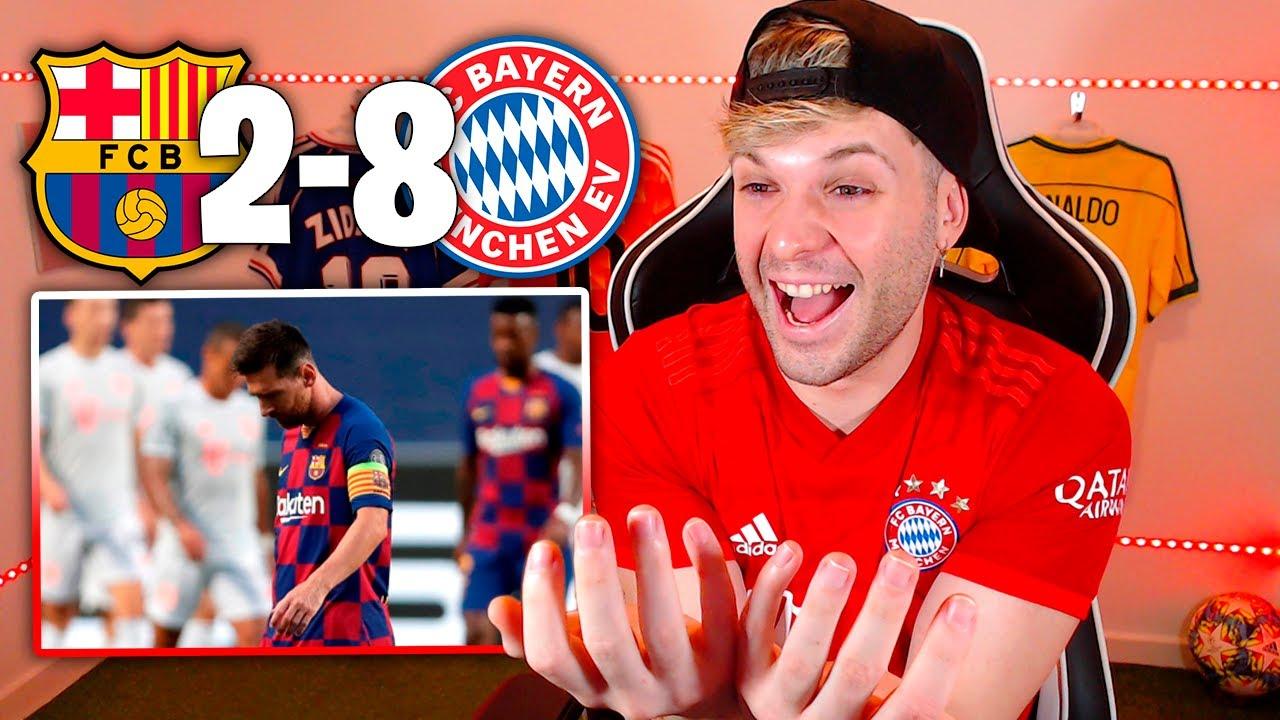 Bayern Munich 8 - Barcelona 7, Lewandowski just behind Ronaldo ...