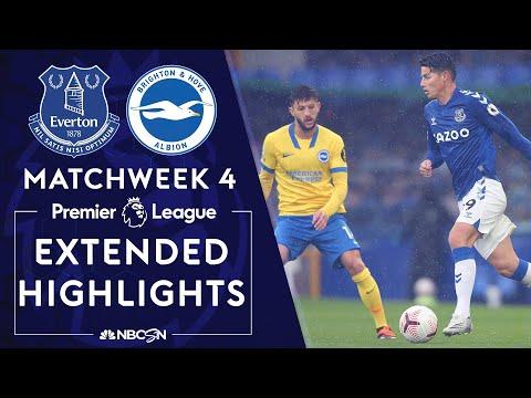 Everton v. Brighton | PREMIER LEAGUE HIGHLIGHTS | 10/3/2020 | NBC Sports
