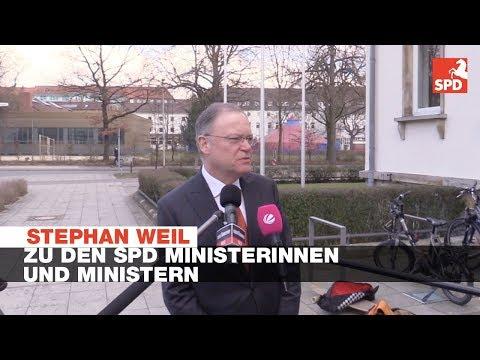 Statement Stephan Weil zu den ...