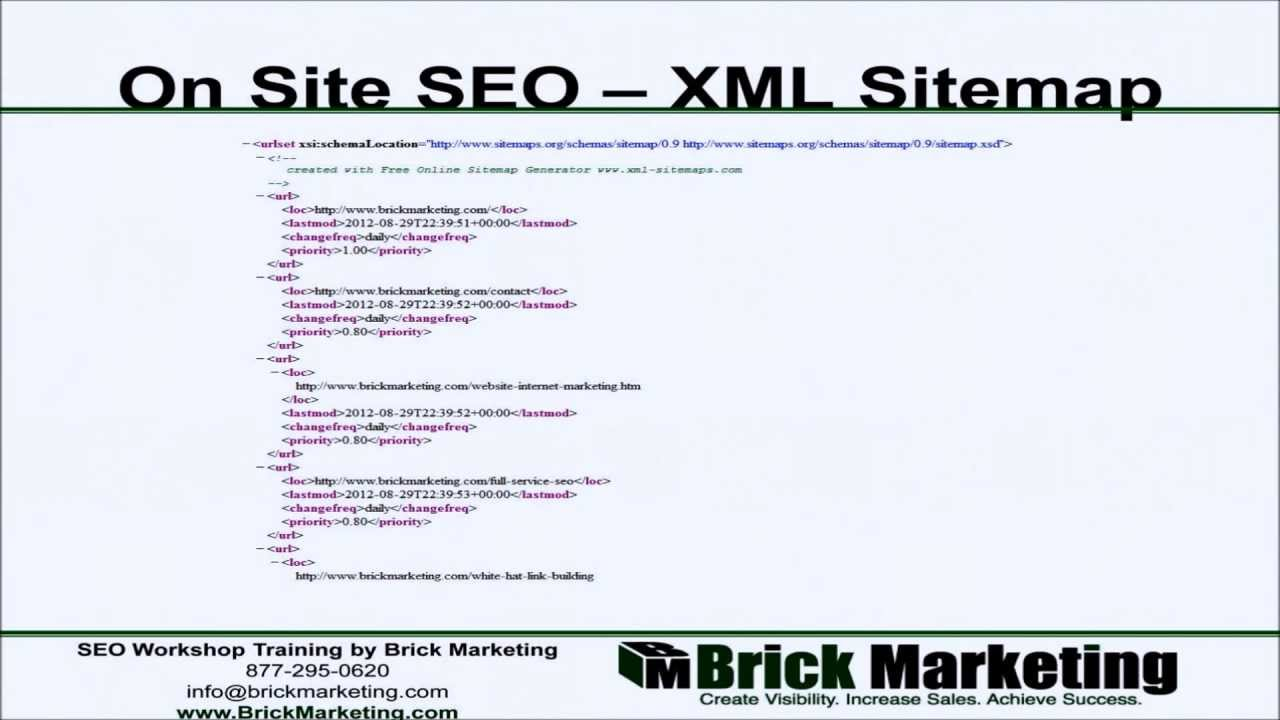 xml sitemaps and seo youtube