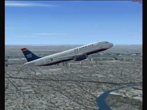 Flight 1549 Crash Landing with Real ATC