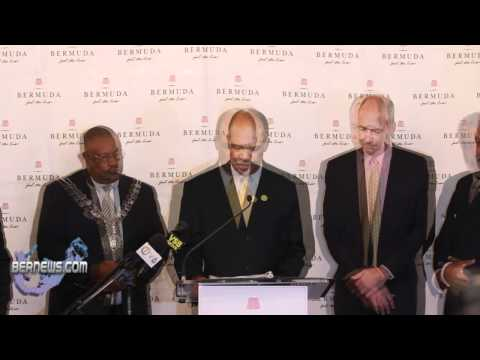 Premier Ewart Brown's Park Hyatt Announcement Oct 2010