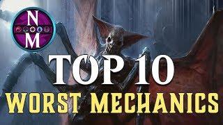 MTG Top 10: WORST Mechanics
