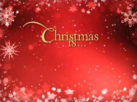 Christmas Is...Christ - YouTube