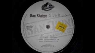 San Quinn • Give It Up Instrumental [MMI]