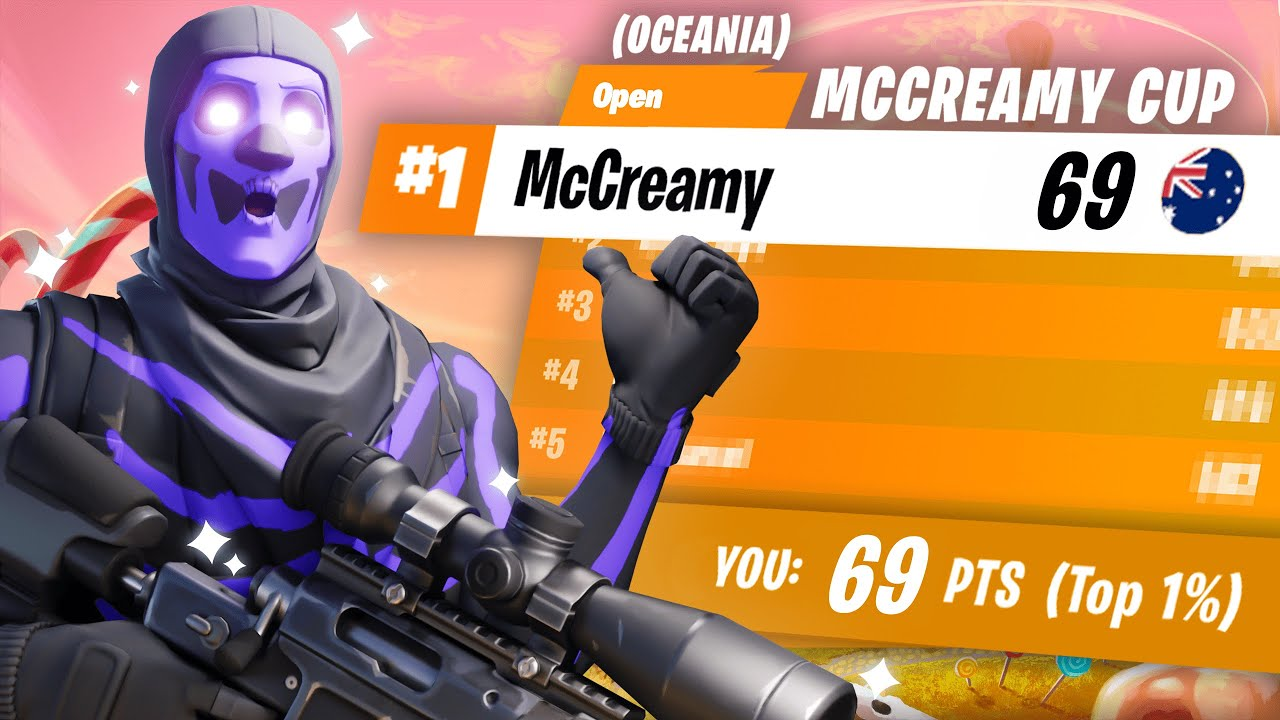 THE MCCREAMY FORTNITE CUP!