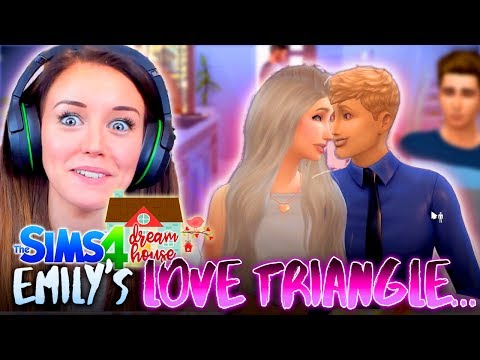 ❤EMILY's LOVE TRIANGLE! WHO SHOULD SHE PICK!?💔 (The Sims 4 #43! 🏡)