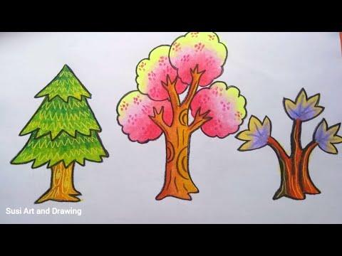 Wn Cara Mewarnai Pohon